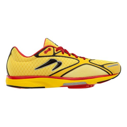 Mens Newton Running Gravity III Running Shoe - Yellow/Black 10.5