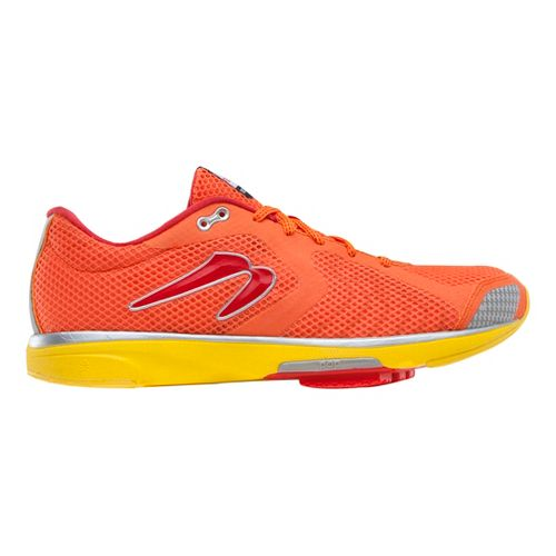 Mens Newton Running Distance III Running Shoe - Orange/Red 12.5