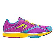 Womens Newton Running Motion III Running Shoe - Orchid/Yellow 6