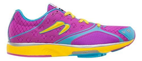 Womens Newton Running Motion III Running Shoe - Orchid/Yellow 6