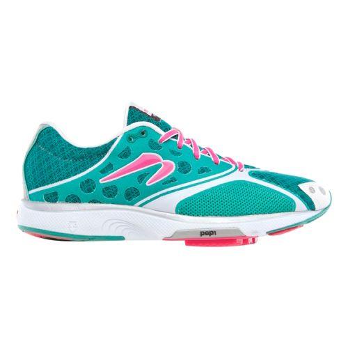 Womens Newton Running Motion III Running Shoe - Turquoise/Magenta 10.5