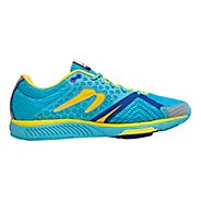 Womens Newton Running Distance S III Running Shoe - Aqua/Yellow 6