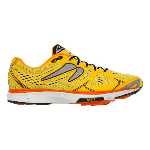 Mens Newton Running Fate Running Shoe - Yellow/Orange 12.5