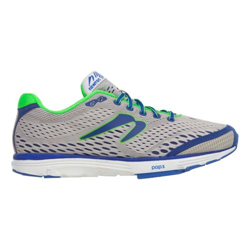 Mens Newton Running Aha Running Shoe - Grey/Blue 9.5