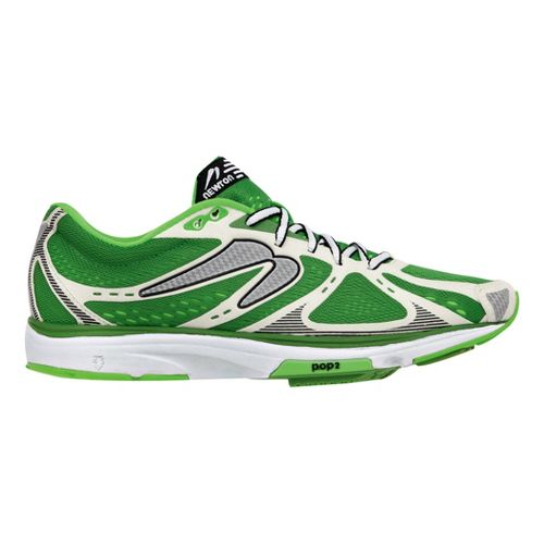 Mens Newton Running Kismet Running Shoe - Green/White 11.5