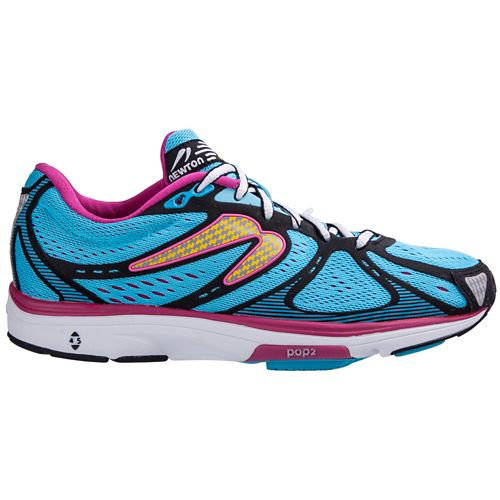 Womens Newton Running Kismet Running Shoe - Blue/Pink 6.5