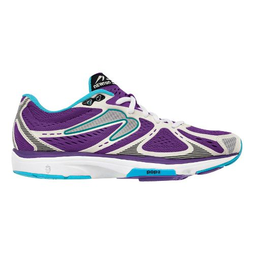 Womens Newton Running Kismet Running Shoe - Purple/White 7.5