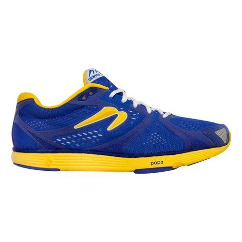 Mens Newton Running Energy NR II Running Shoe - Midnight Blue/Yellow 8.5