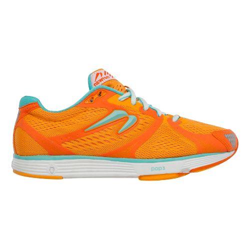 Womens Newton Running Energy NR II Running Shoe - Orange/Sky Blue 10