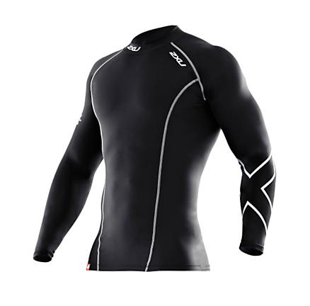 2XU Xform Long Sleeve Compression Top Long Sleeve No Zip Technical Tops