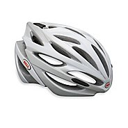 Bell Array Helmet White/Silver Helmets