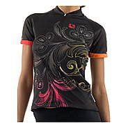 Giordana Arts Crush Short Sleeve Jersey - Black Cycling Technical Tops