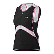 Louis Garneau Pro Sleeveless Semi-Relax Tri Top Sleeveless Technical Tops