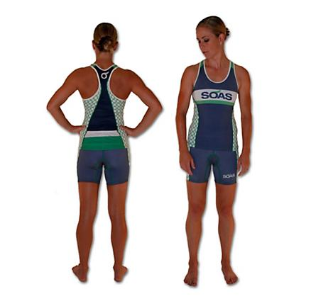 SOAS Racing Ring Race Tri Short Shorts
