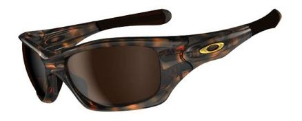 Oakley Pit Bull Brown Tortoise Sunglass -Dark Brown lens Sunglasses