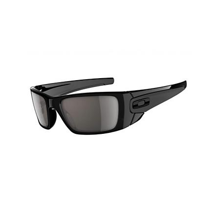 Oakley Fuel Cell Polished Black Warm Grey Sunglasses