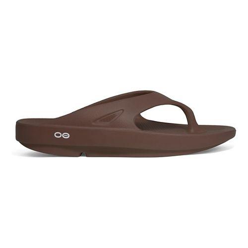 OOFOS OOriginal Thong Sandals Shoe - Mocha 6