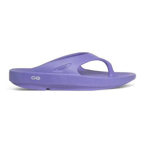 OOFOS OOriginal Thong Sandals Shoe - Periwinkle 9