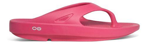 OOFOS OOriginal Thong Sandals Shoe - Pink 7