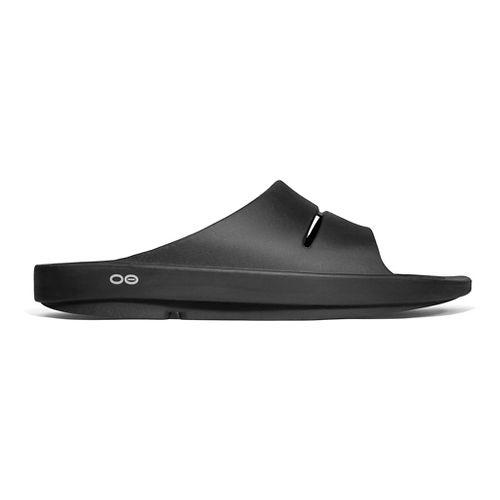 OOFOS Ooahh Slide Sandals Shoe - Black 3