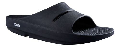 OOFOS Ooahh Slide Sandals Shoe - Navy 9
