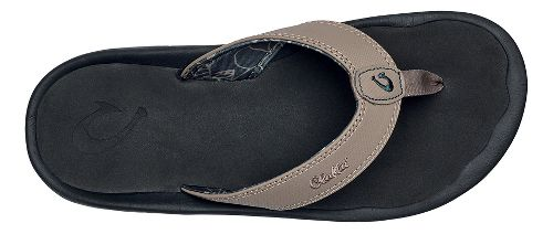 Mens OluKai Ohana Sandals Shoe - Clay/Black 7