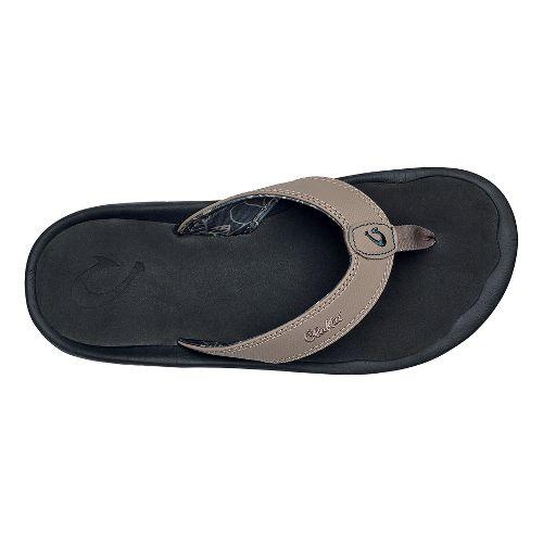 Mens OluKai Ohana Sandals Shoe - Clay/Black 15