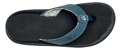 Mens OluKai Ohana Sandals Shoe - Stormy Blue/Black 14
