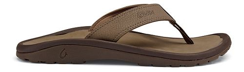 Mens OluKai Ohana Sandals Shoe - Mustang 9