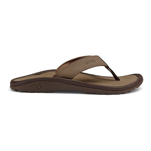 Mens OluKai Ohana Sandals Shoe - Mustang 13