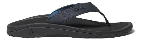 Mens OluKai Ohana Sandals Shoe - Depth/Black 13