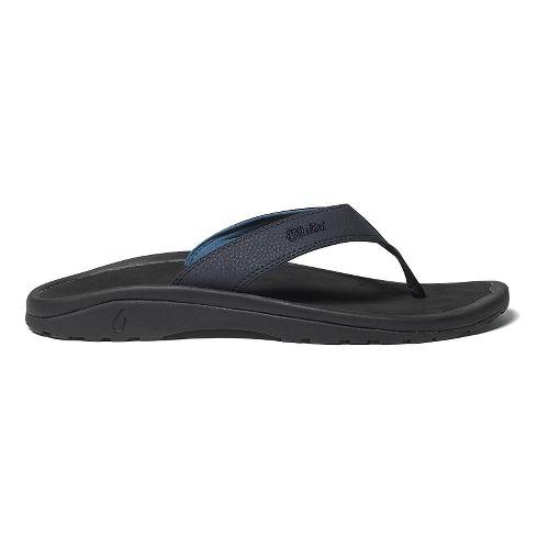 Mens OluKai Ohana Sandals Shoe - Depth/Black 12
