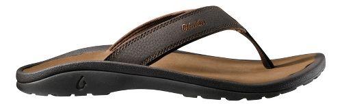 Mens OluKai Ohana Sandals Shoe - Brown/Tan 17