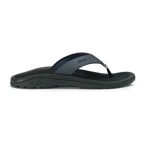 Mens OluKai Ohana Sandals Shoe - Navy/Black 8