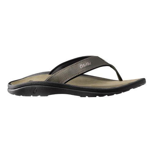 Mens OluKai Ohana Sandals Shoe - Olive 12