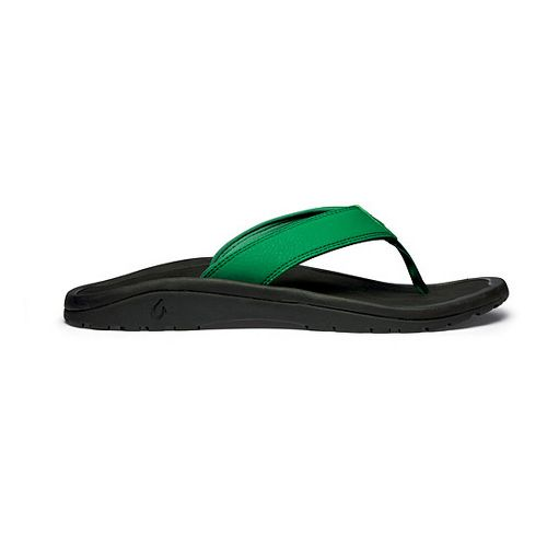 Mens OluKai Ohana Sandals Shoe - Spearmint/Black 17