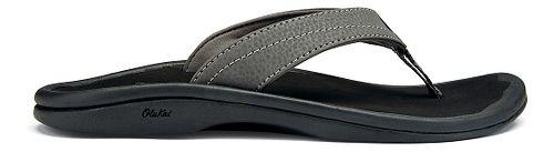 Womens OluKai Ohana Sandals Shoe - White/Dark Java 10