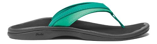 Womens OluKai Ohana Sandals Shoe - Mermaid/Black 7