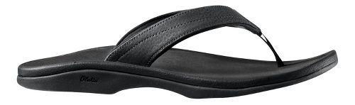 Womens OluKai Ohana Sandals Shoe - Black 10