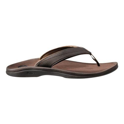 Womens OluKai Ohana Sandals Shoe - Brown 7
