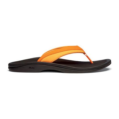 Womens OluKai Ohana Sandals Shoe - Orange 5