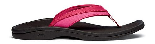 Womens OluKai Ohana Sandals Shoe - Mermaid/Black 7