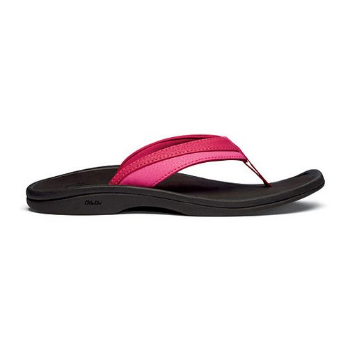 Womens OluKai Ohana Sandals Shoe - Pink Punch 9