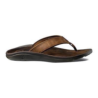 Mens OluKai Ohana Leather Sandals Shoe