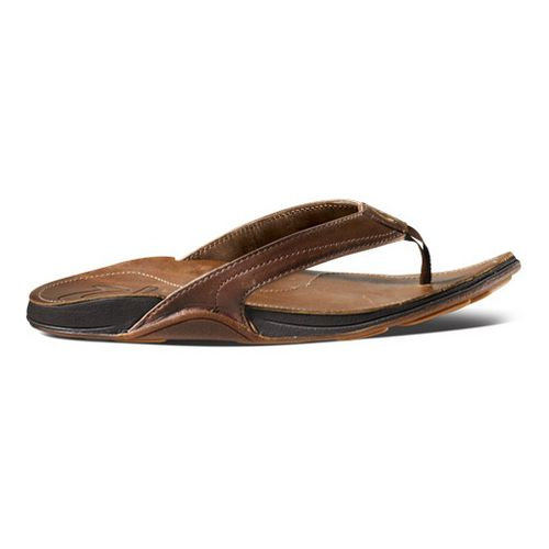 Womens OluKai Kumu Sandals Shoe - Java/Rattan 6