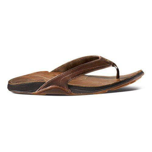 Womens OluKai Kumu Sandals Shoe - Java/Rattan 6