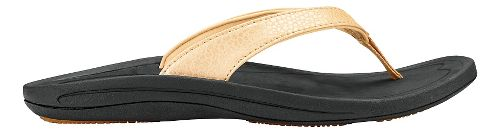 Womens OluKai Kulapa Kai Sandals Shoe - Bubbly/Black 6