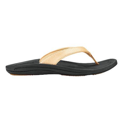 Womens OluKai Kulapa Kai Sandals Shoe - Bubbly/Black 10