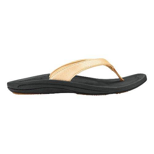 Womens OluKai Kulapa Kai Sandals Shoe - Bubbly/Black 5
