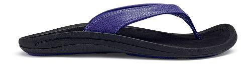 Womens OluKai Kulapa Kai Sandals Shoe - Deep Violet/Black 6